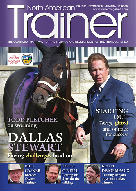 PonyUp Technologies featured in North American Trainer Magazine